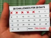 30 30 day challenges