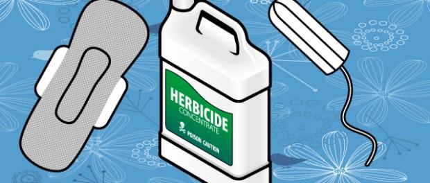 Herbicide Tampon Pad